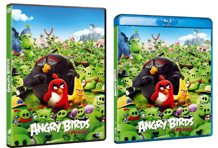 'Angry Birds, la película'  llaga a nuetros hogares en Blu-ray y DVD a partir del 7 de septiembre