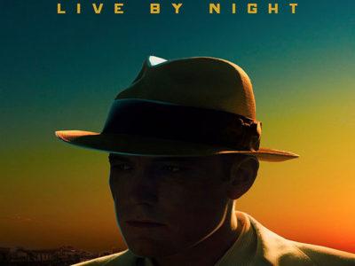 Póster de Live By Night, con Ben Affleck destacada