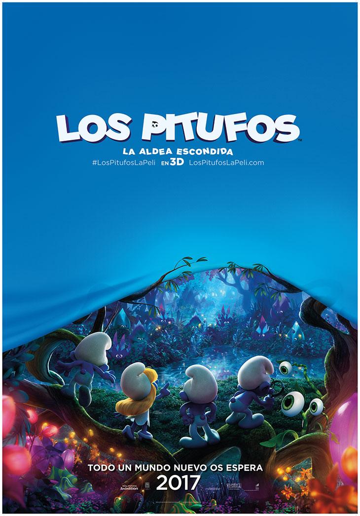 Póster de Los Pitufos: la aldea escondida (The Smurfs: The Lost Village)