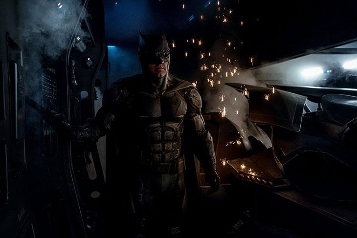 El traje táctico de Batman en 'Justice League'