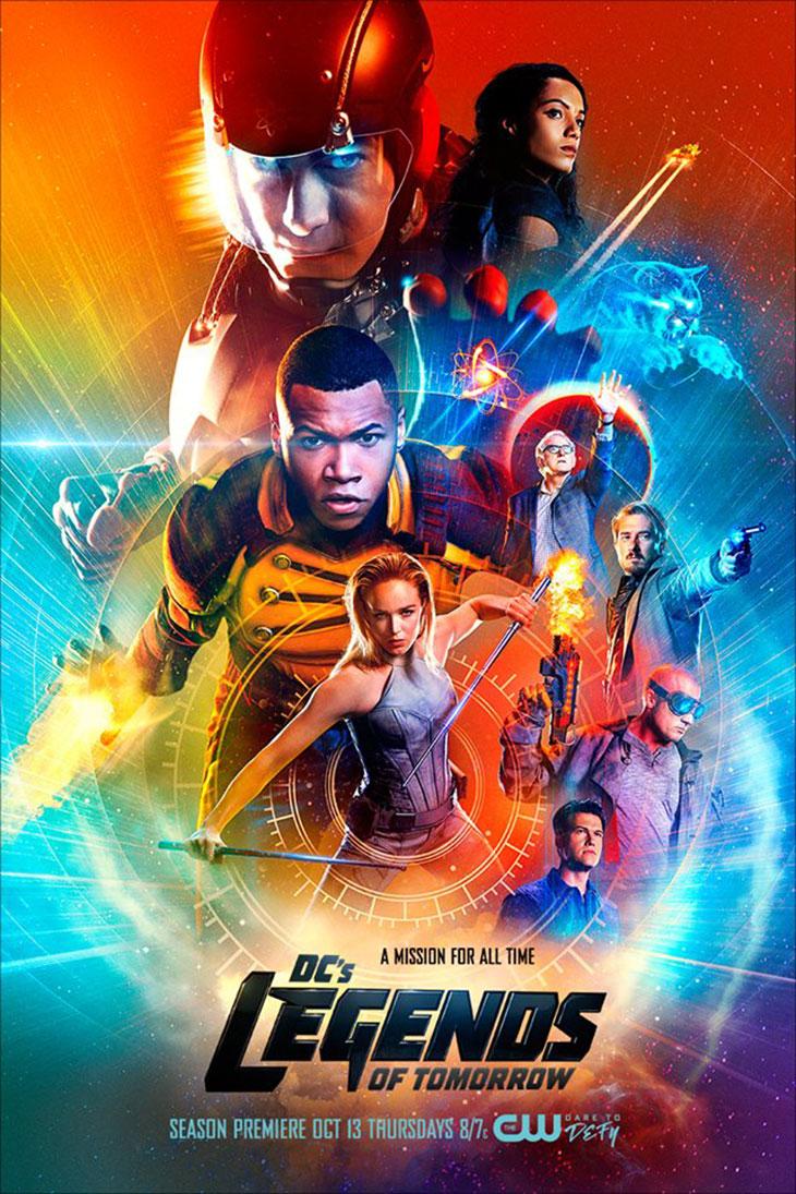 póster de la segunda temporada de 'Legends of tomorrow'
