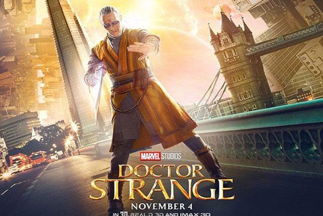 Nuevo póster de de 'Doctor Extraño' destacada