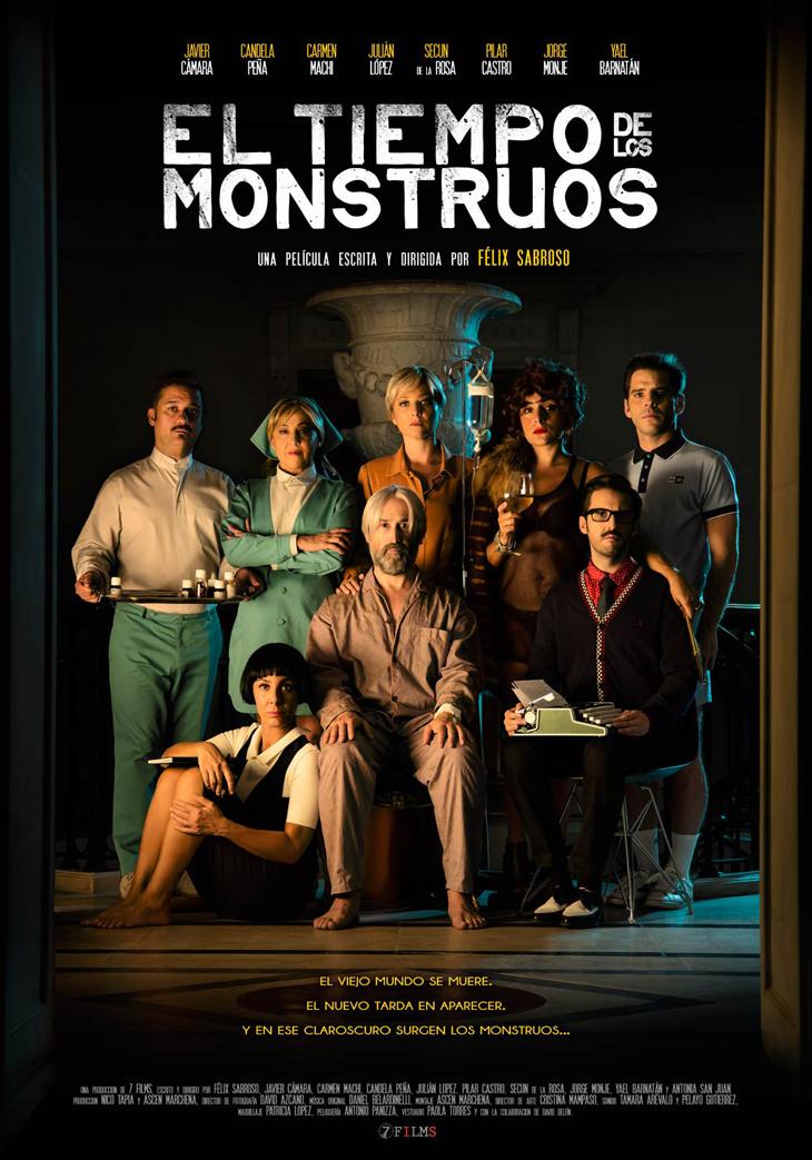 Ya hay fecha de estreno par 'El tiempo de los monstruos' lo último de Félix Sabroso