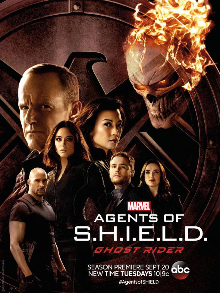 Ghost Rider protagoniza el nuevo póster de 'Agentes de S.H.I.E.L.D.'