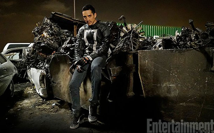 Gabriel Luna es Robbie Reyes en Agentes de SHIELD