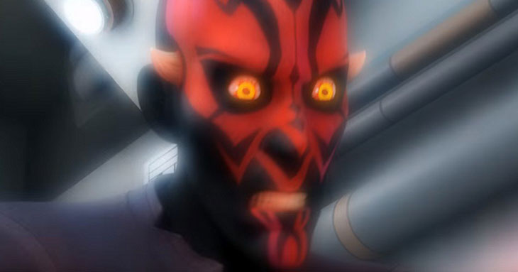 Darth Maul en la la tercera temporada de 'Star Wars: Rebels'