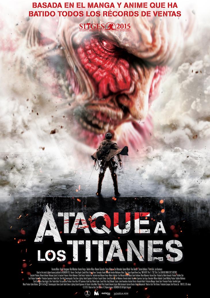 Las películas en acción real del exitoso anime 'Ataque a los Titanes' disponibles el 7 de octubre