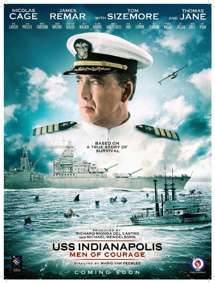 Póster de 'USS Indianapolis: Men of Courage'