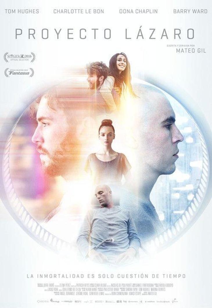 Os enseñamos el póster definitivo de 'Proyecto Lázaro' del director Mateo Gil