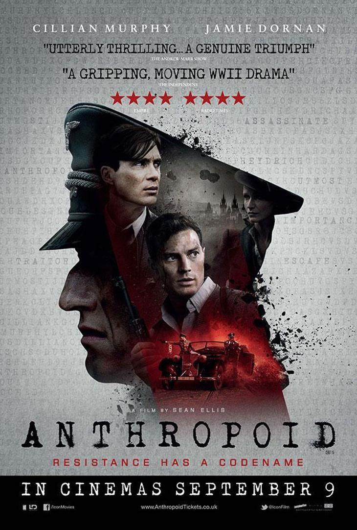 Jamie Dornan y Cillian Murphy protagonizan 'Operación Anthropoid' un thriller bélico de Sean Ellis