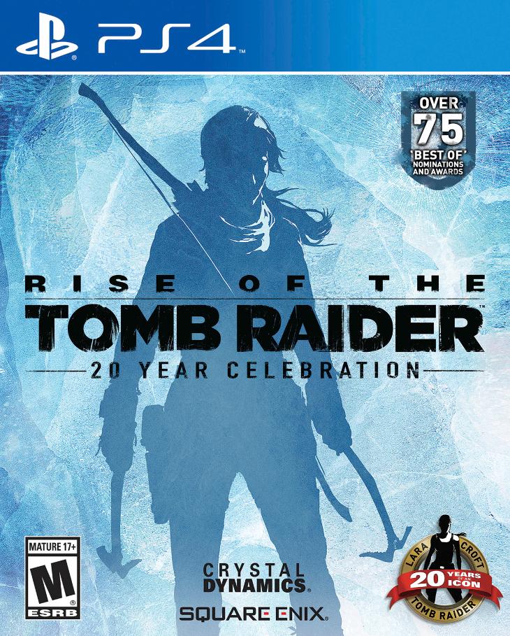 Rise of the Tomb Raider: 20º aniversario llega a PlayStation 4