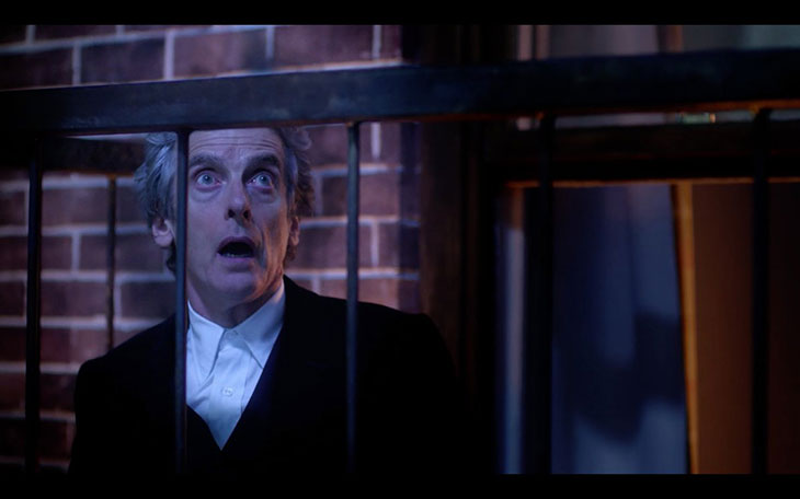 Peter Capaldi en Doctor Who
