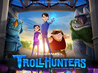 Póster de Trollhunters destacada