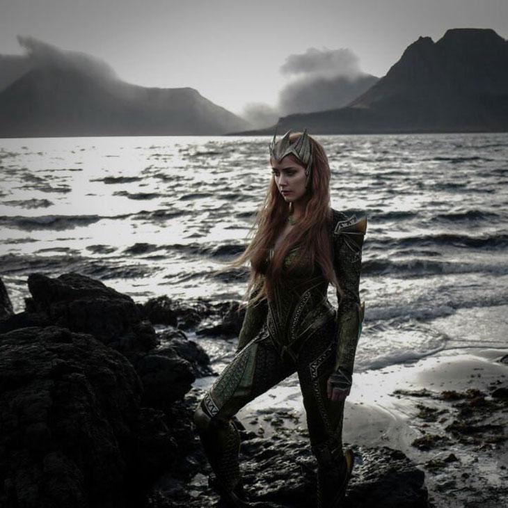 Amber Heard,  Mera en Justice League