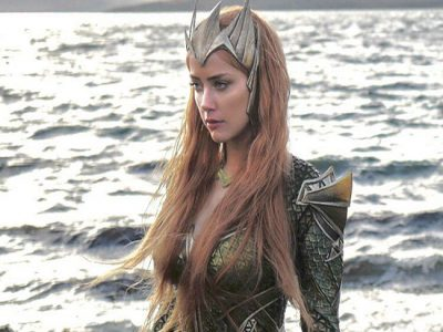 Amber Heard, Mera en Justice League destacada