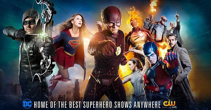 'The Flash', 'Arrow', 'Legends of tomorrow' y 'Supergirl'