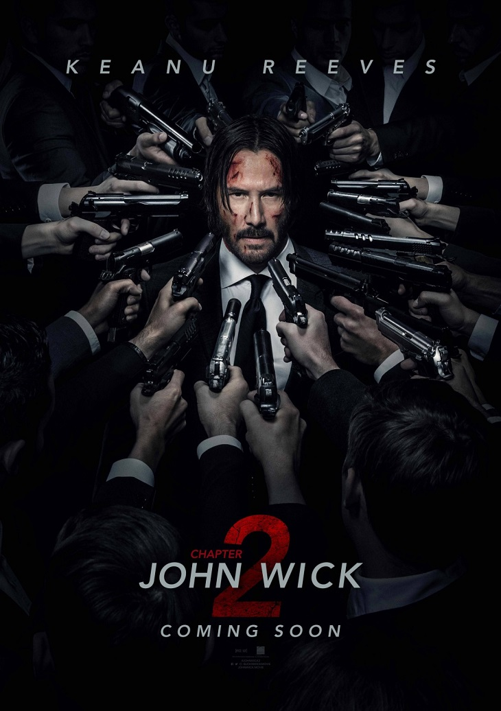 Póster de 'John Wick: Chapter 2'
