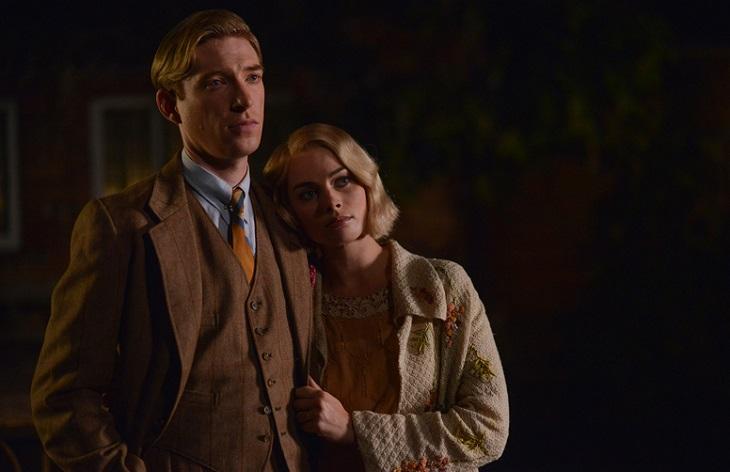 Gleeson y Robbie en el biopic sobre Milne