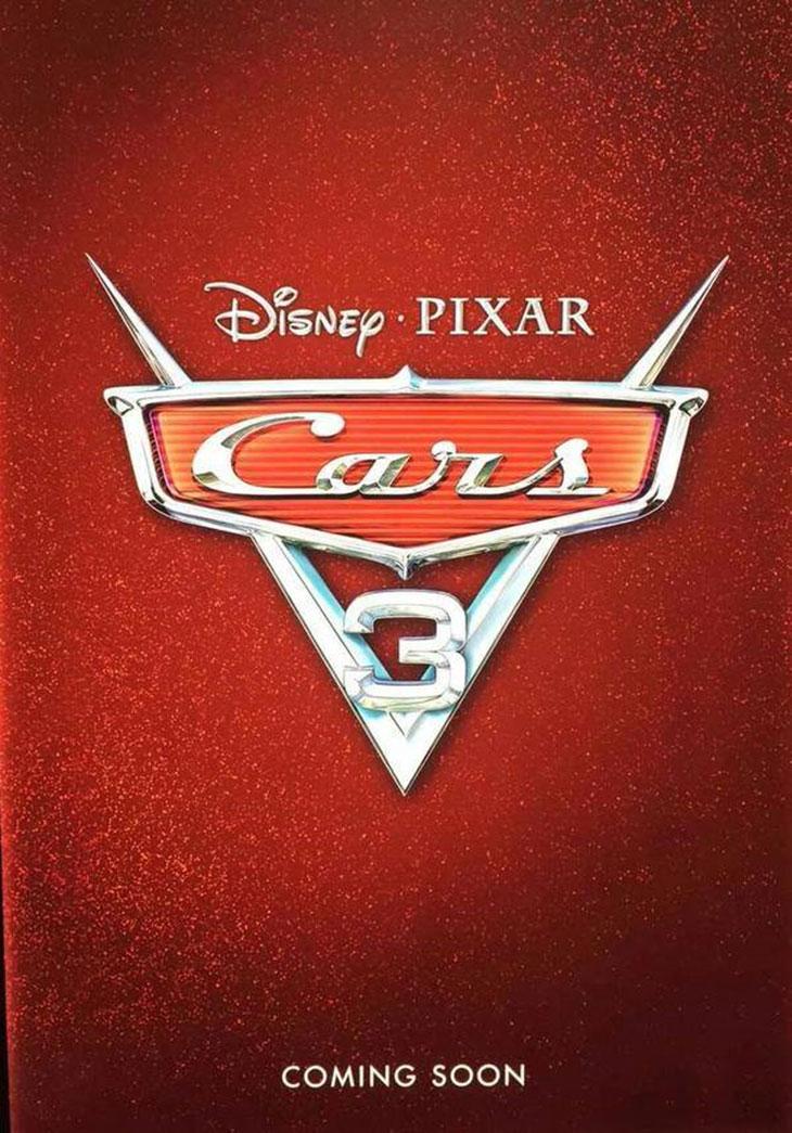 Teaser poster de Cars 3