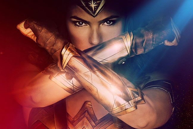Póster de Wonder Woman destacada