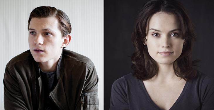 Tom Holland y Daisy Ridley protagonizarán 'Chaos Walking'
