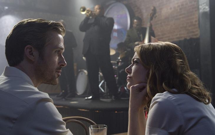 Gosling y Stone en 'La ciudad de las estrellas'