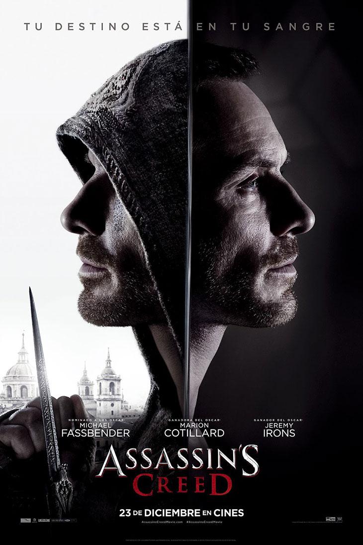 Nuevo póster en español de 'Assasin`s Creed'