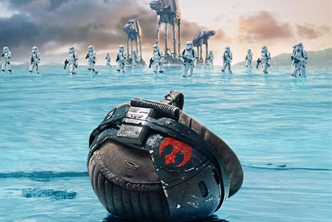 Nuevo póster de Rogue One: una historia de Star Wars destacada