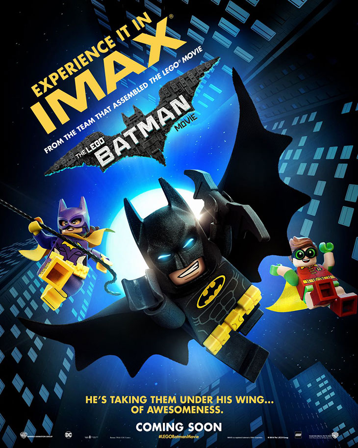 Póster de 'LEGO Batman: la película'
