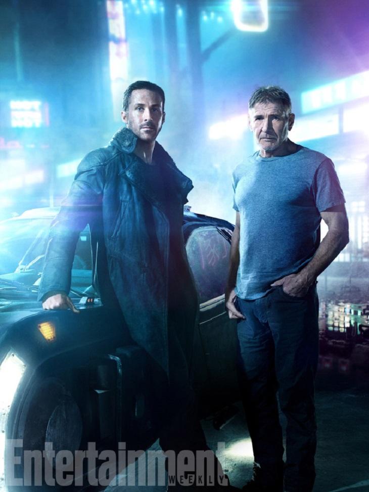 Gosling y Ford en 'Blade Runner 2049'