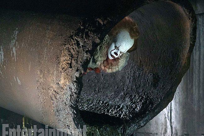 Nueva imagen de Pennywise en el remake de 'It' destacada