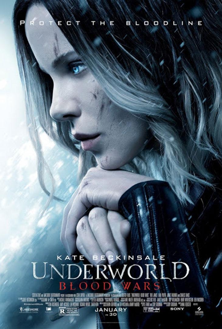 Póster final de 'Underworld: Guerras de sangre'