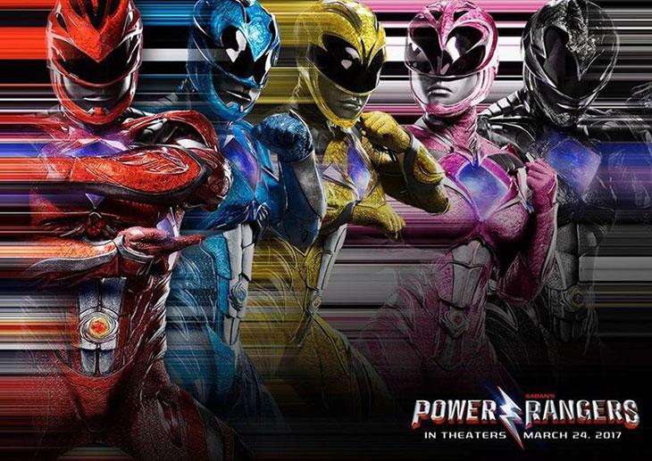 Nuevo póster de los Power Rangers