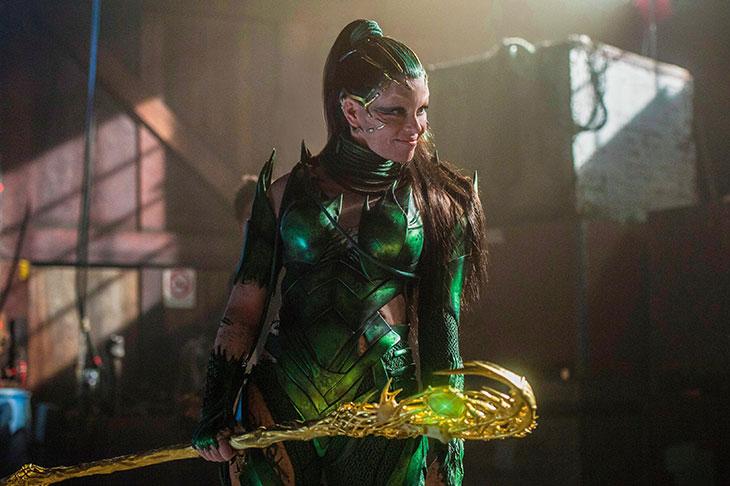 Nueva imagen de Rita Repulsa en Power Rangers