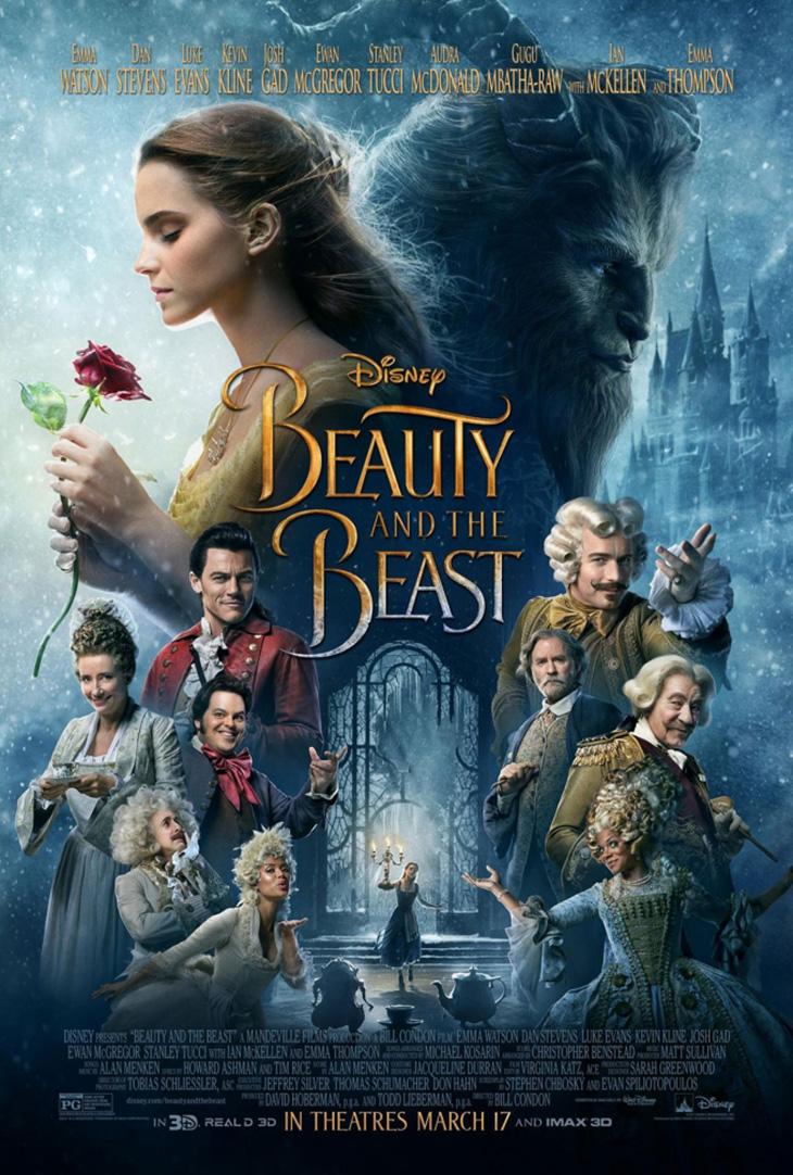 póster de 'La bella y la bestia'