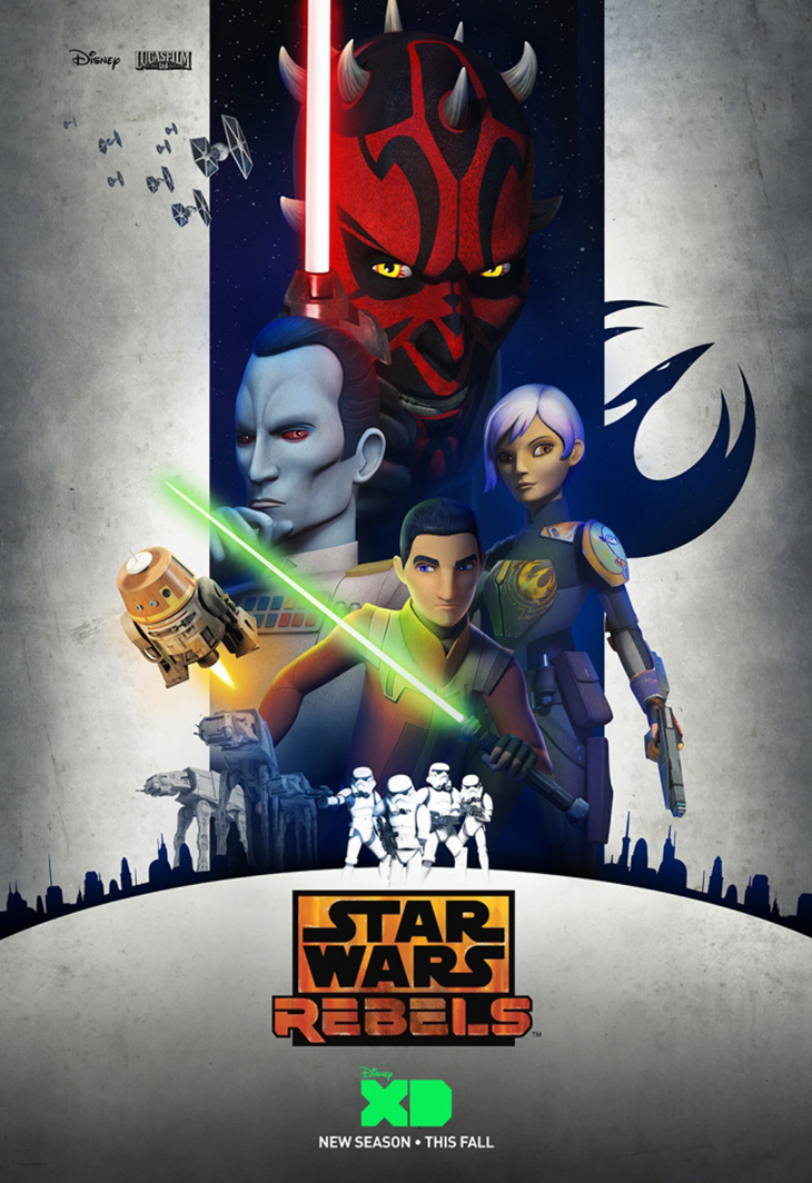 Póster de Star Wars Rebels