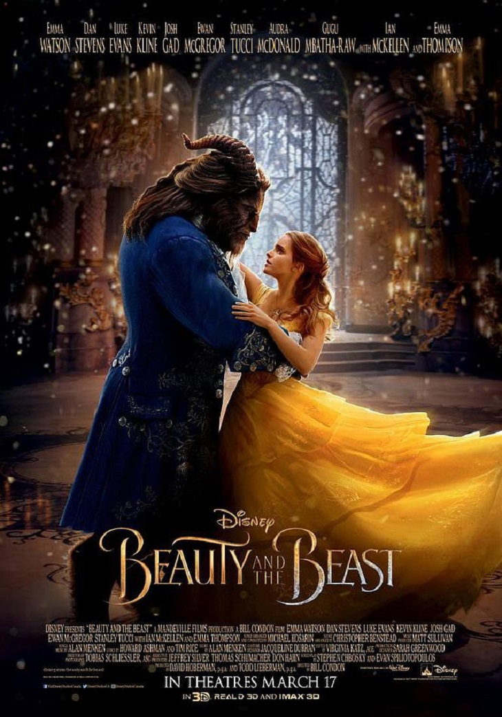 Otro póster de la nueva versión de 'La bella y la bestia'