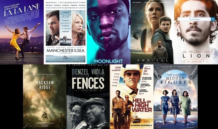 Nominadas a mejor película