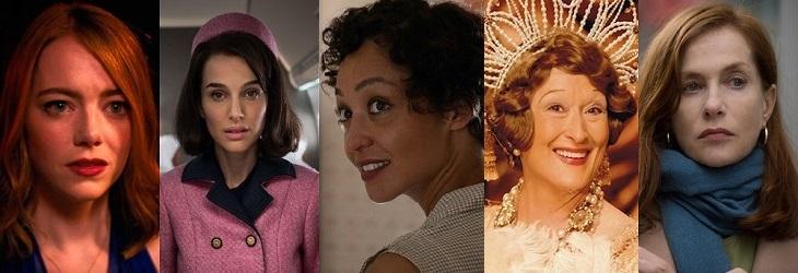 Actrices protagonistas nominadas al Oscar