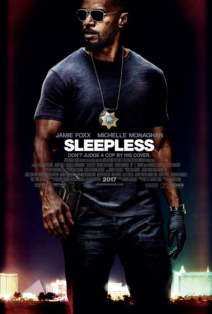 Póster de 'Sleepless'