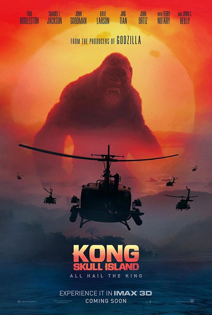 nuevo póster de 'Kong: La Isla Calavera'