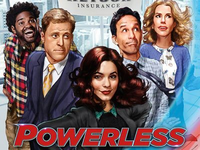 Póster de Powerless destacada