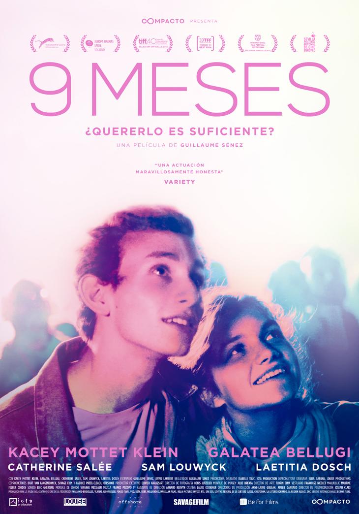 '9 meses', de Guillaume Senez se estrenara el 10 de marzo en España