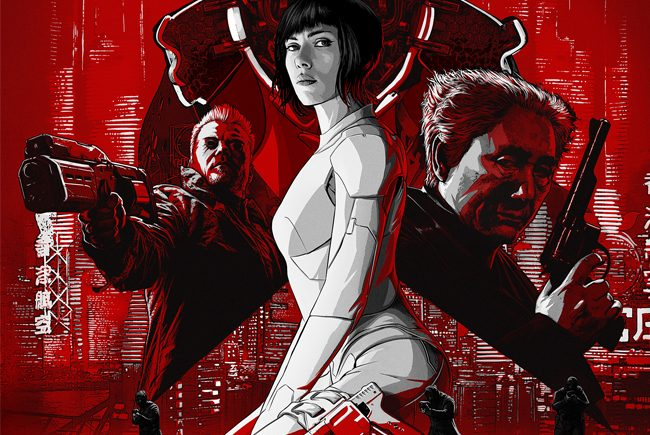 ¡Nuevo vídeo y póster en castellano de 'Ghost in the shell' el alma de la máquina!