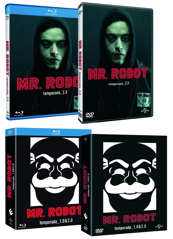 'Mr. Robot' temporada_2.0: el fenómeno televisivo llega en Blu-ray y DVD