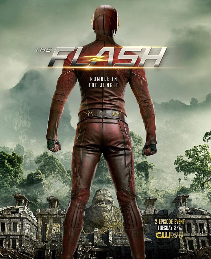 Póster de The Flash Attack on Gorilla City