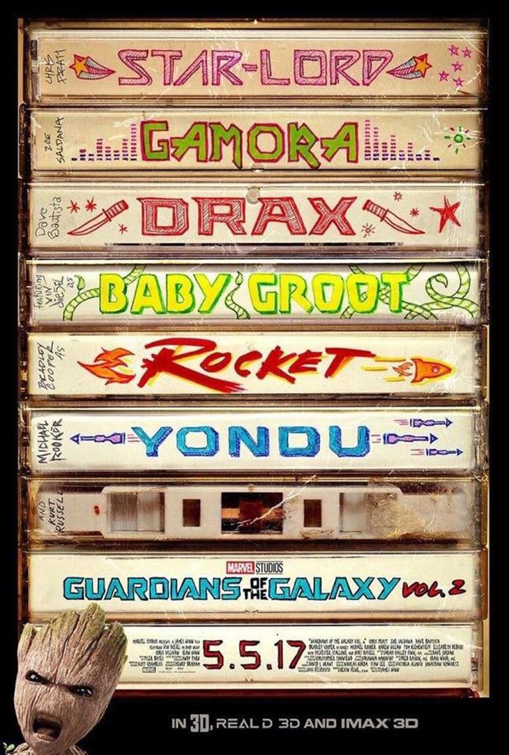 Nuevo póster de 'Guardianes de la Galaxia Vol. 2'