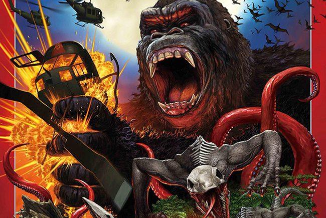póster japonés de 'Kong: La Isla Calavera' destacada