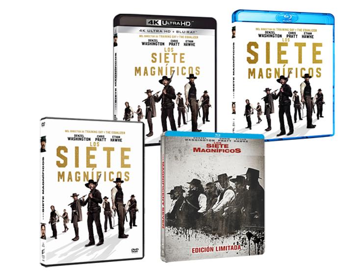 'Los siete magníficos', una revisión del western clásico con ojos del siglo XXI, ya en blu-ray y DVD