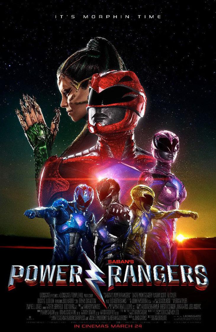 Nuevo póster de Power Rangers